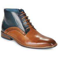 Sapatos Homem Botas baixas Kdopa HARRIS Conhaque / Azul