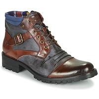 Sapatos Homem Botas baixas Kdopa SLASH Camel / Azul