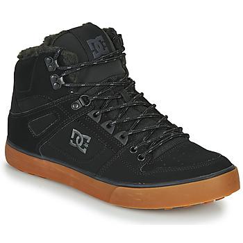 Sapatos Homem Sapatilhas de cano-alto DC Shoes PURE HT WC WNT M Preto
