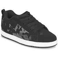 Sapatos Homem Sapatos estilo skate DC Shoes COURT GRAFFIK Preto