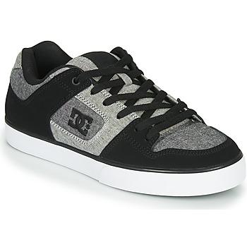 Sapatos Homem Sapatilhas DC Shoes PURE Preto / Cinza
