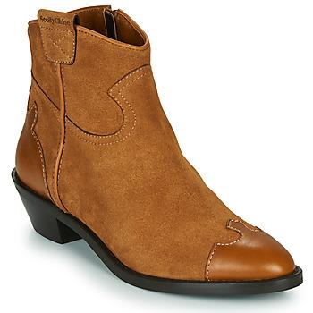 Sapatos Mulher Botins See by Chloé VEND Conhaque
