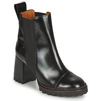 Sapatos Mulher Botins See by Chloé TRINIDAD Preto