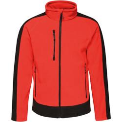 Textil Homem Casaco polar Regatta RG662 Clássico vermelho/preto