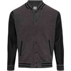 Textil Homem Jaquetas Awdis JH042 Carvão Vegetal/Jet Black