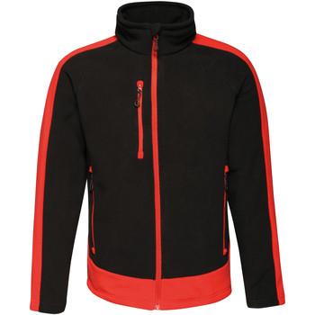 Textil Homem Casaco polar Regatta RG662 Preto/Vermelho Clássico
