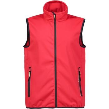 Textil Homem Casacos de malha Musto MU053 Verdadeiro Vermelho