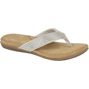 Sapatos Mulher Chinelos Cipriata  Prata