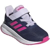 Sapatos Criança Sapatilhas de corrida adidas Originals Runfalcon I Branco, Azul marinho
