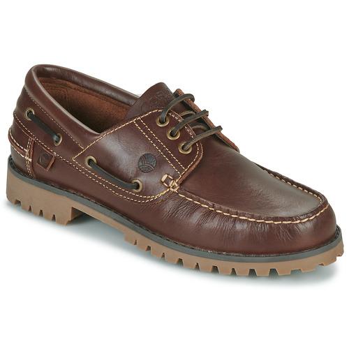 Sapatos Homem Sapato de vela Casual Attitude EVEROA Castanho