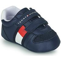 Sapatos Criança Sapatilhas Tommy Hilfiger T0B4-30191 Azul