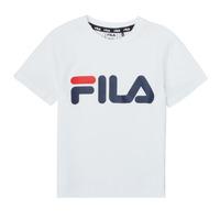 Textil Criança T-Shirt mangas curtas Fila LEA Branco