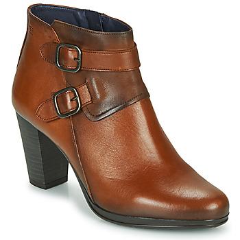 Sapatos Mulher Botins Dorking JIN Castanho