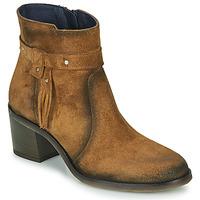 Sapatos Mulher Botins Dorking AMBRA Castanho