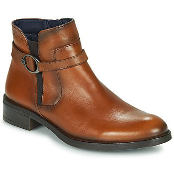 Sapatos Mulher Botas baixas Dorking TIERRA Castanho