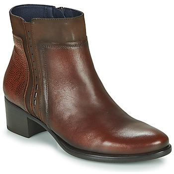 Sapatos Mulher Botins Dorking ALEGRIA Castanho
