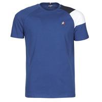 Textil Homem T-Shirt mangas curtas Le Coq Sportif ESS TEE SS N°10 M Azul