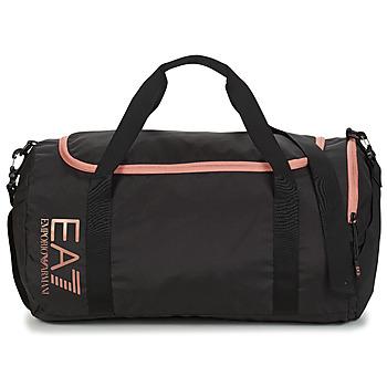 Malas Homem Saco de desporto Emporio Armani EA7 TRAIN CORE U GYM BAG SMALL Preto / Rosa