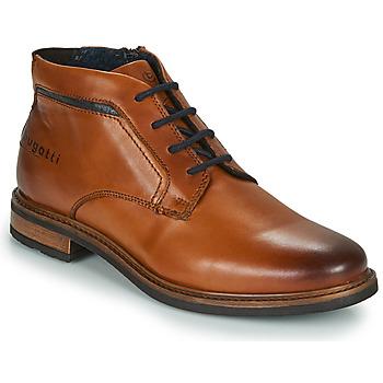 Sapatos Homem Botas baixas Bugatti NELS Castanho
