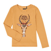 Textil Rapariga T-shirt mangas compridas Ikks XR10102 Castanho