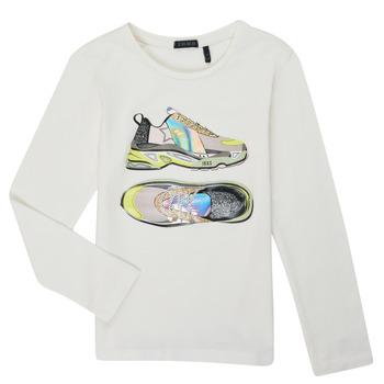 Textil Rapariga T-shirt mangas compridas Ikks XR10172 Branco