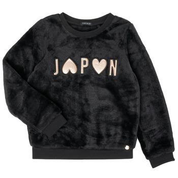 Textil Rapariga Sweats Ikks XR15042 Preto