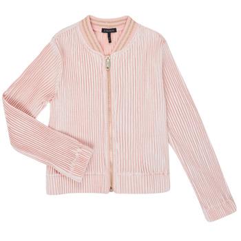 Textil Rapariga Casacos de malha Ikks XR17022 Rosa