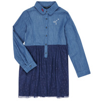 Textil Rapariga Vestidos curtos Ikks XR30122 Azul