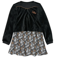 Textil Rapariga Vestidos curtos Ikks XR30162 Preto