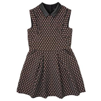 Textil Rapariga Vestidos curtos Ikks XR30212 Preto