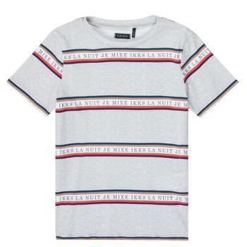 Textil Rapaz T-Shirt mangas curtas Ikks XR10003 Cinza
