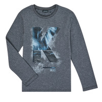 Textil Rapaz T-shirt mangas compridas Ikks XR10203 Cinza