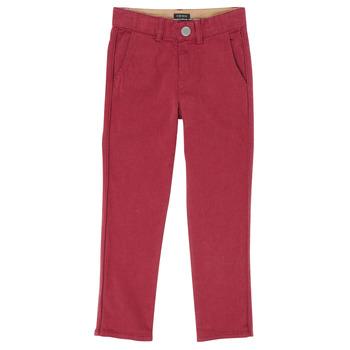 Textil Rapaz Calças Ikks XR22093 Vermelho