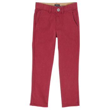 Textil Rapaz Calças Ikks XR22093J Vermelho