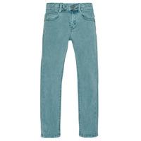Textil Rapaz Calças de ganga slim Ikks XR29013 Verde