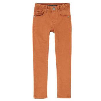 Textil Rapaz Calças de ganga slim Ikks XR29013 Castanho