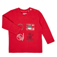 Textil Rapaz T-shirt mangas compridas Ikks XR10011 Vermelho