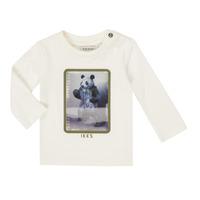 Textil Rapaz T-shirt mangas compridas Ikks XR10101 Branco