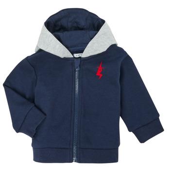 Textil Rapaz Casacos de malha Ikks XR17001 Azul