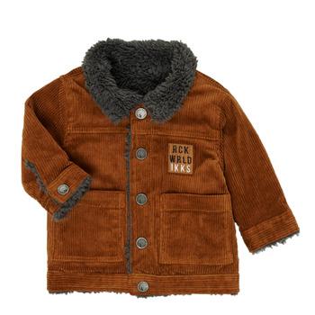 Textil Rapaz Jaquetas Ikks XR40051 Castanho