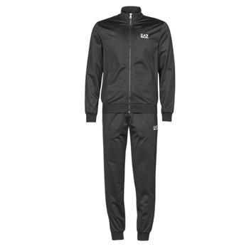 Textil Homem Todos os fatos de treino Emporio Armani EA7 TRAIN CORE ID M T-SUIT TT FZ CH PL Preto