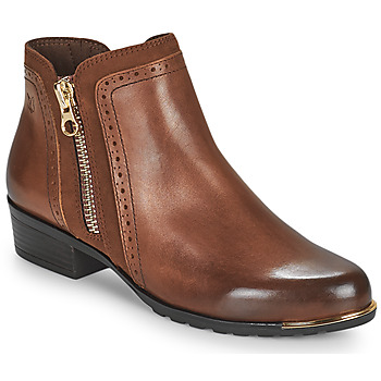 Sapatos Mulher Botas baixas Caprice 25403-313 Conhaque