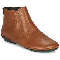 Sapatos Mulher Botas baixas Camper RIGHT NINA Castanho