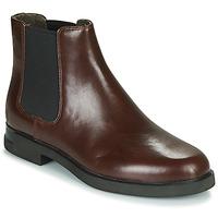 Sapatos Mulher Botas baixas Camper IMN0 Castanho
