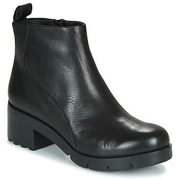 Sapatos Mulher Botins Camper WND0 Preto