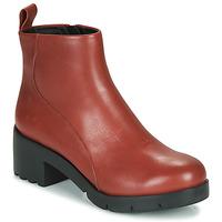 Sapatos Mulher Botins Camper WND0 Bordô