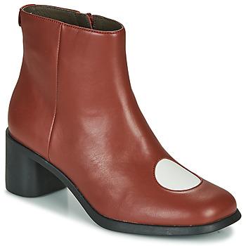 Sapatos Mulher Botins Camper TWINS Bordô