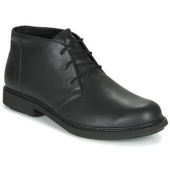 Sapatos Homem Botas baixas Camper MILX Preto