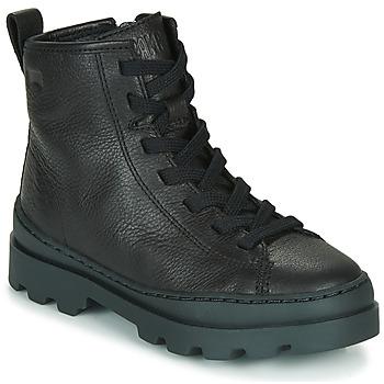 Sapatos Criança Botas baixas Camper BRUTUS Preto