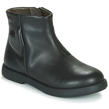 Sapatos Rapariga Botas baixas Camper DTT1 Preto
